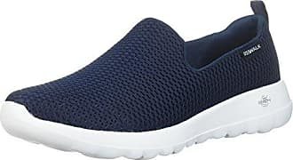 Skechers Damen-Microburst One up Slip-on Sneaker - Navy Marineblau 40
