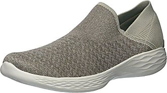Skechers Ez Flex 3.0-Swift Motion, Zapatillas sin Cordones para Mujer, Gris (Grey Gry), 36.5 EU