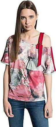 smash Hiute, Camiseta de Tirantes para Mujer, Rojo (Red), Large (Tamaño del Fabricante:L)
