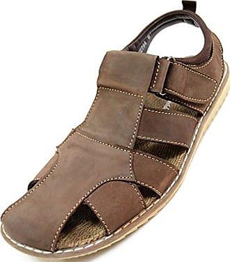 Damen/Damen Leder Smart/Casual/Sommer-Schuhe, Braun - Braun - Größe: 40.5