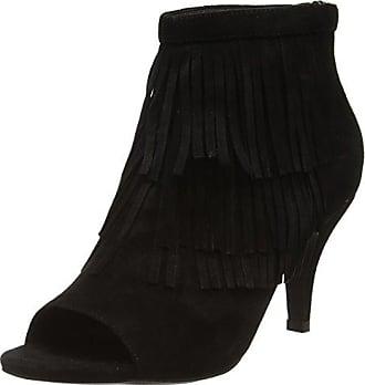 Suede Stiletto, Escarpins Femme - Noir - Noir, 40Sofie Schnoor