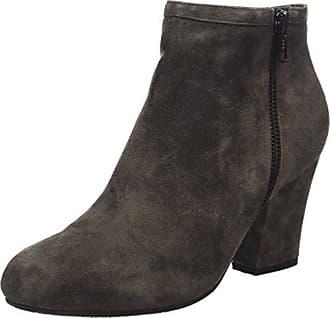 Sofie Schnoor Suede Ancle Boot - Botas de Caño bajo de Cuero Mujer, Color Gris, Talla 37