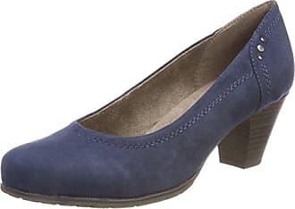 54.3.011, Escarpins Bout Fermé Femme, Bleu (Navy), 40 EUPrimafila