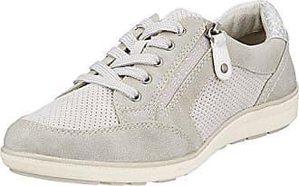 Softline 23763, Zapatillas para Mujer, Plateado (White/Silver), 37 EU