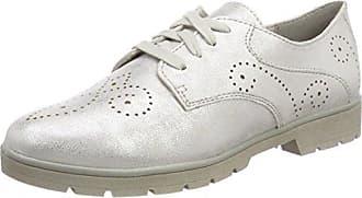 Softline 23763, Zapatillas para Mujer, Plateado (White/Silver), 42 EU