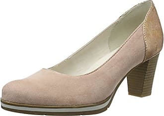 Damen 22463 Pumps, Pink (Rose Pat struc), 40 EU Soft Line