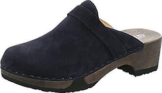 Softclox Clogs mit Holzboden Größe 37 Atlantic (Hazelnut)