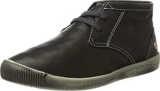 SoftinosIsleen Smooth - Zapatillas Mujer, Color Negro, Talla 40 UE
