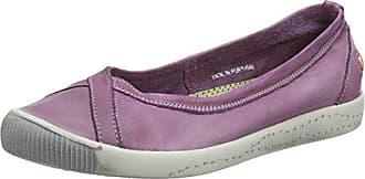 Softinos ICA388SOF Washed, Zapatillas para Mujer, Grün (Pastel Green), 36 EU