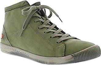 Softinos Isleen Washed Leather, Baskets Hautes Femme, Braun (Brick), 37 EU