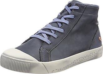 Indira Washed, Zapatillas Altas para Mujer, Blau (Lavender Blue), 35 EU Softinos