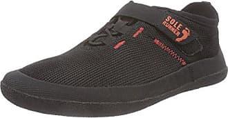FX Trainer 3, Sneaker Donna Nero Schwarz (Black/Red 05) 48 Sole Runner