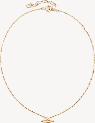 Sole Society Womens Cz Pendant Choker Necklace In Color: Gold One Size From Sole Society