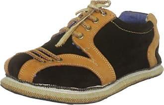 soleRebels xdsirat_wmns_16 - Zapatos de cuero para hombre, color negro, talla 40.5