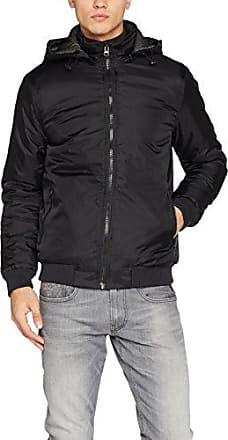 6169616-Chaqueta Hombre Negro (Black) X-Large Solid