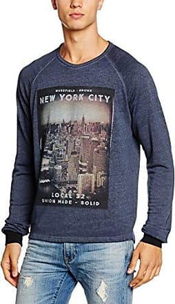 Mens Sweat - Emerik Long Sleeve Sweatshirt Solid