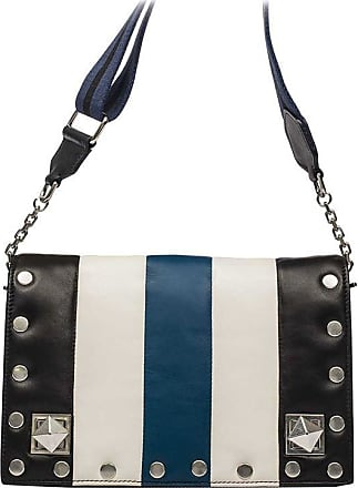 White and blue Baby Niky bag Sonia Rykiel