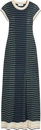 Sonia Rykiel Woman Striped Cotton-blend Maxi Dress Multicolor Size L Sonia Rykiel