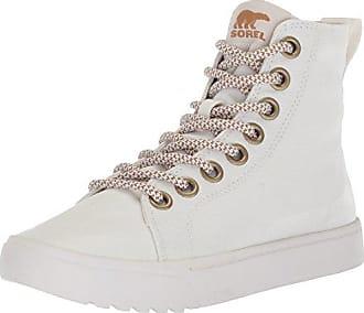 Sorel Explorer Carnival, Zapatillas Altas para Mujer, Gris (Dove, White 081), 41 EU