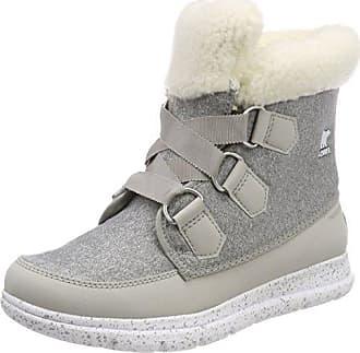 Sorel Whitney Short Lace, Zapatillas para Mujer, Hueso (Sea Salt), 40.5 EU