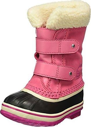 Sorel Toddler Snow Commander, Bottes de Neige Bébé Fille, Rose (Tropic Pink, 26891609db65