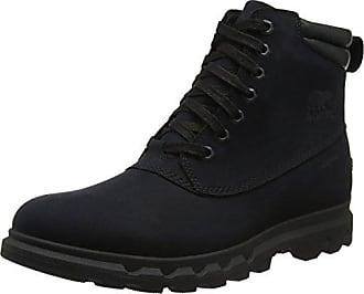 Sorel Portzman Moc Toe, Botas de Nieve para Hombre, Marrón (Major/Concrete), 47 EU