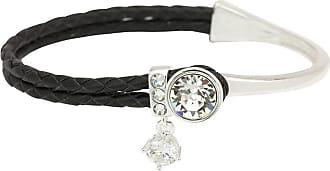 Sparkle Allure Sparkle Allure Womens White Bangle Bracelet