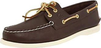 a/O 2-Eye Wedge Can, Náuticos para Hombre, Gris (Grey 80), 40.5 EU Sperry Top-Sider