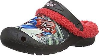 Spiderman SP003213, Zapatillas para Niños, Rojo (L.Grey/H.Red/Black 638), 28 EU