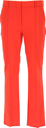 Pants for Women On Sale, Red, Cotton, 2017, 26 30 Sportmax
