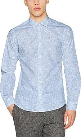 Bx_Keith, Camisa Casual para Hombre, Azul (Sky 25), 44(Talla del Fabricante: Large) Brax