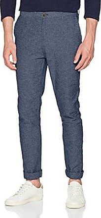 Mens Chino Slim Lino Texturas Trousers Springfield