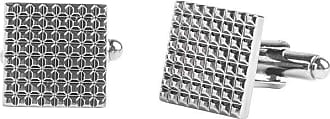 Stafford Stafford Textured Gunmetal Cufflinks