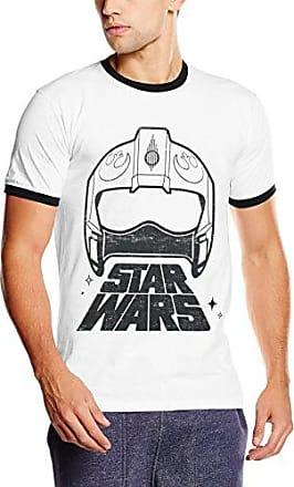 Laint Spats Helmet, T-Shirt Homme, Bleu (Navy 004), LStar Wars