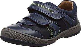 Start Rite Flexy-Tough, Baskets Garçon, Bleu (Navy_9), 28.5 EU