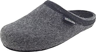 Stegmann 127, Unisex-Erwachsene Pantoffeln, Grau (grey 8804), 36 EU (3.5 Erwachsene UK)