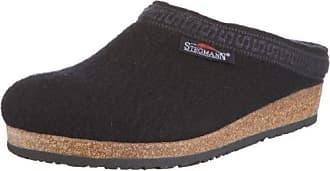 Stegmann 108, Unisex-Erwachsene Pantoffeln, Schwarz (black 8802), 38 EU (5 Erwachsene UK)