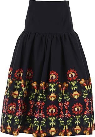 Skirt for Women On Sale, Multicolor, polyester, 2017, 26 28 30 Stella Jean