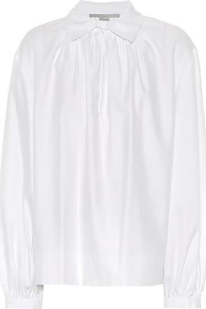 Stella Mccartney Woman Cotton-gauze Top Sand Size 46 Stella McCartney