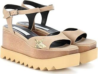 Stella McCartney Elyse Plattform Sandals Nude in beige Sandalen für Damen