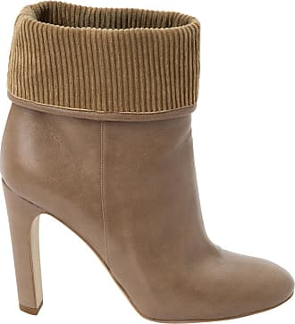 Pre-owned - Leather ankle boots Stella McCartney