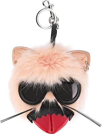 Stella McCartney Stella Mccartney Woman Fringed Faux-leather Keychain Red Size