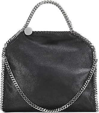 Shaggy Deer Falabella Shoulder Bag aus navyblauem Polyester Stella McCartney