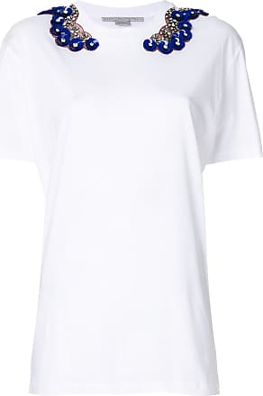 T-Shirt for Women On Sale, White, Cotton, 2017, Universal size Stella McCartney