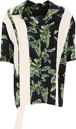 Shirt for Women On Sale, Grass Green, Silk, 2017, 6 8 Stella McCartney