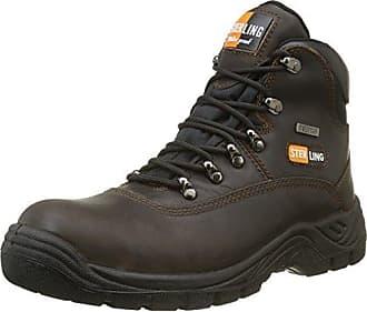 Sterling Safetywear Apache ap302sm size 9, Herren Sicherheitsschuhe, schwarz, 43 EU/9 UK