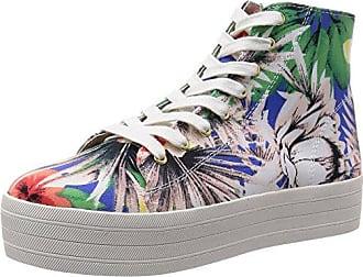 Steve Madden VICKTORI - Zapatillas para Mujer, Color Gold Snake, Talla 40