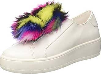 Steve Madden Brody, Zapatillas para Mujer, Multicolor (Black Multi Black Multi), 9 EU