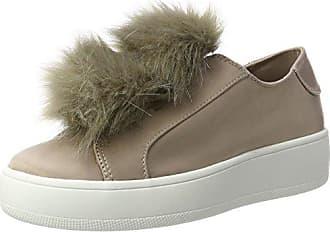Steve Madden Breeze, Zapatillas para Mujer, Bianco (White Multi), 40 EU