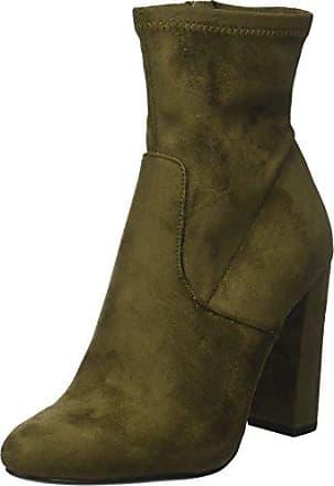 Steve Madden Laurie Ankle Boot, Botas para Mujer, Rojo (Burgundy), 36 EU